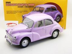 Morris Minor 1000 Saloon 1960 1 milionésimo lilás / roxa 1:12 SunStar