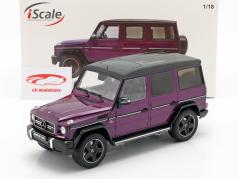 Mercedes-Benz G-Klasse G63 AMG Crazy Colors galacticbeam porpora 1:18 iScale