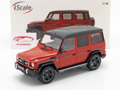 Mercedes-Benz G-Klasse G63 AMG Crazy Colors 蕃茄 红 1:18 iScale