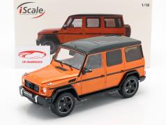Mercedes-Benz G-Klasse G63 AMG Crazy Colors sunsetbeam arancione 1:18 iScale