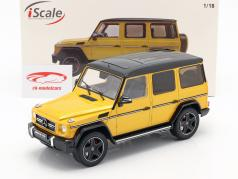 Mercedes-Benz G-Klasse G63 AMG Crazy Colors solarbeam giallo 1:18 iScale