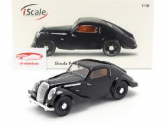 Skoda Popular Monte Carlo zwart 1:18 iScale
