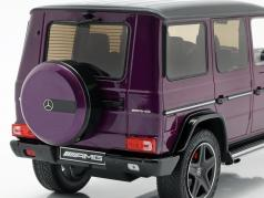 Mercedes-Benz G-Klasse G63 AMG Crazy Colors galacticbeam 紫色 1:18 iScale