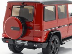 Mercedes-Benz G-Klasse G63 AMG Crazy Colors tomaten rood 1:18 iScale