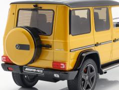 Mercedes-Benz G-Klasse G63 AMG Crazy Colors solarbeam yellow 1:18 iScale
