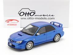 Subaru Impreza STI S204 ano de construção 2006 azul 1:18 OttOmobile