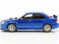 Subaru Impreza STI S204 year 2006 blue 1:18 OttOmobile