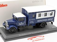Mercedes-Benz Lo 2750 Rennabteilung Specialized workshops 1:43 Schuco