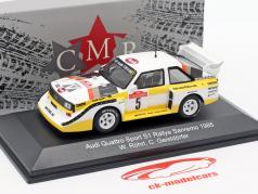 Audi Sport Quattro S1 #5 Vinder Rallye SanRemo 1985 Röhrl, Geistdörfer 1:43 CMR
