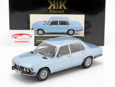 BMW 3.0S E3 series 2 year 1971 light blue 1:18 KK-Scale