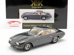 Lamborghini 400 GT 2 5 Baujahr 1965 anthrazit 1:18 KK-Scale