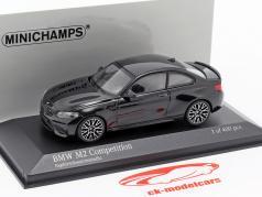 BMW M2 Competition Baujahr 2019 saphirschwarz metallic 1:43 Minichamps