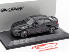 BMW M2 Competition year 2019 sapphire black metallic 1:43 Minichamps