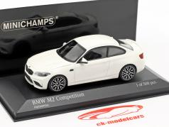 BMW M2 Competition year 2019 alpine white 1:43 Minichamps