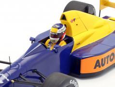 Jean Alesi Tyrrell 018 #4 日本 GP 公式 1 1989 1:18 Minichamps