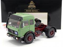 Mercedes-Benz NG 1632 trator ano de construção 1973 verde 1:18 Road Kings