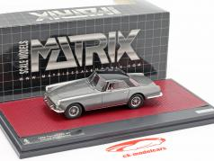Ferrari 250 GT Coupe Pininfarina 1958 grey metallic / black 1:43 Matrix