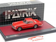 Ferrari 250 GT Coupe Pininfarina year 1958 red 1:43 Matrix