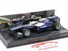 Nico Hülkenberg Williams FW32 #10 1st Pole position brasiliansk GP 1:43 Minichamps