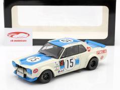 Nissan Skyline GT-R (KPGC-10) Vainqueur de la 15e course, 300 km de la course de vitesse Fuji 1972 1:18 AUTOart
