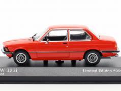 BMW 323i (E21) year 1975 henna red 1:43 Minichamps
