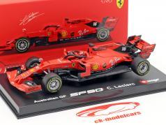 Charles Leclerc Ferrari SF90 #16 澳大利亚 GP F1 2019 同 橱窗 1:43 Bburago
