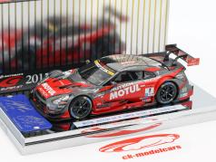 Nissan GT-R #1 campeão Super GT500 Series 2015 Matsuda, Quintarelli 1:43 Ebbro
