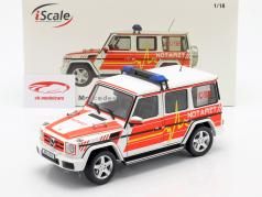 Mercedes-Benz G-Class (W463) 2015 Emergency 1:18 iScale