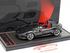 Ferrari Monza SP2 Salón del automóvil París 2018 Daytona negro 1:43 BBR