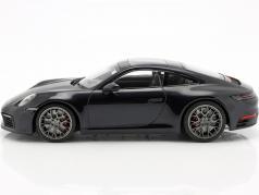 Porsche 911 (992) Carrera 4S year 2019 dark blue metallic 1:18 Minichamps
