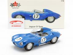 Jaguar D-Type #17 3 ° 24h LeMans 1957 Lucas, Brussin 1:18 CMR