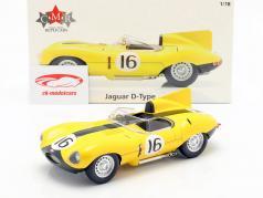 Jaguar D-Type #16 4 24h LeMans 1957 Frere, Rousselle 1:18 CMR