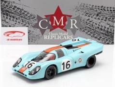 Porsche 917K #16 vencedor 1000km Zeltweg 1971 Rodriguez, Attwood 1:18 CMR
