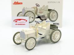 Mercedes 35 HP year 1901 white 1:18 Schuco