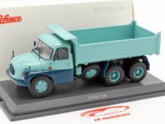 Tatra T138 dumper turquesa / azul 1:43 Schuco