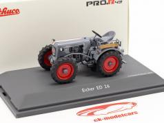 Eicher ED 26 tractor grijs 1:43 Schuco