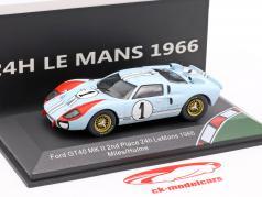 Ford GT40 MK II #1 второй 24h LeMans 1966 Miles, Hulme 1:43 CMR