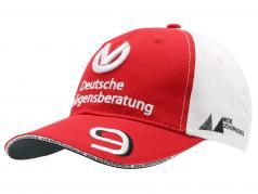 Mick Schumacher Cap #9 fórmula 2 2019 rojo / blanco