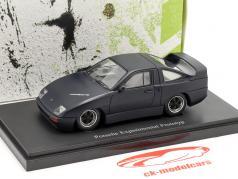 Porsche Experimental Prototyp año de construcción 1985 negro 1:43 AutoCult