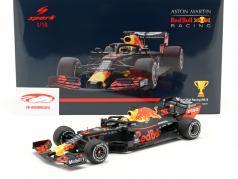 Max Verstappen Red Bull Racing RB15 #33 Winner Austrian GP F1 2019 1:18 Spark