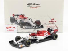 Kimi Räikkönen Alfa Romeo Racing C38 #7 Australian GP F1 2019 1:18 Spark