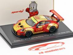 MondoMotors Racing PORSCHE 911 GT3RS METAL 1:64