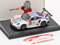 Porsche 911 RSR #912 3rd GTLM Class 24h Daytona 2019 Porsche GT Team 1:64 Spark