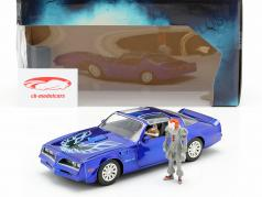 Henry Bower's Pontiac Firebird film It (2017) con cifra Pennywise 1:24 Jada Toys