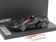 Lamborghini Centenario Roadster nemesis preto 1:43 LookSmart
