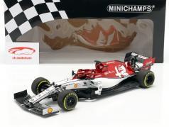 Kimi Räikkönen Alfa Romeo Racing C38 #7 formula 1 2019 1:18 Minichamps