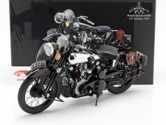 Brough Superior SS100 T.E. Lawrence Opførselsår 1932 sort 1:6 Minichamps