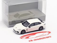 Porsche Panamera Turbo S E-Hybrid Sport Turismo 2017 weiß 1:87 Minichamps