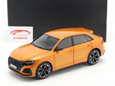 Audi RS Q8 ano de construção 2020 dragão laranja 1:18 Jaditoys