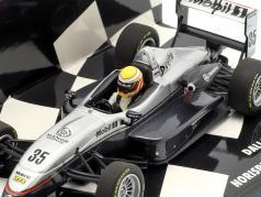 L. Hamilton Dallara F302 #35 gagnant Norisring F3 Euro Series 2004 1:43 Minichamps